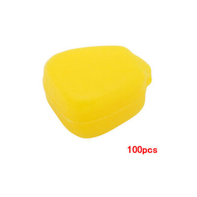 100Pc Yellow Fishing Lures Pop up Soft Corn Floating Baits Coarse Carp Tool