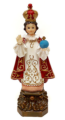 Infant Jesus of Prague Statue by Adeline Collection, 8-Inch