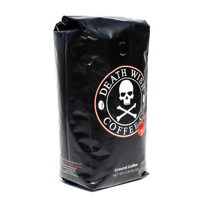 Death Wish Coffee, The World's Strongest Ground Coffee, Fair Trade and Organical