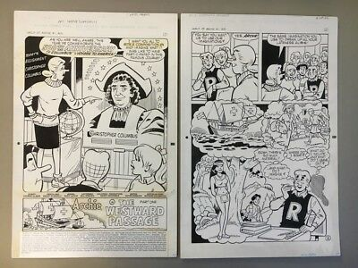 World of Archie #1 pg.1 - 31, Aug '92, 23 page story, original art by Scarpelli