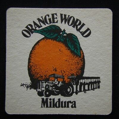 XOrange World Mildura Coaster (B306)