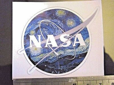 NASA science space universe astrology planets mars Sticker decal