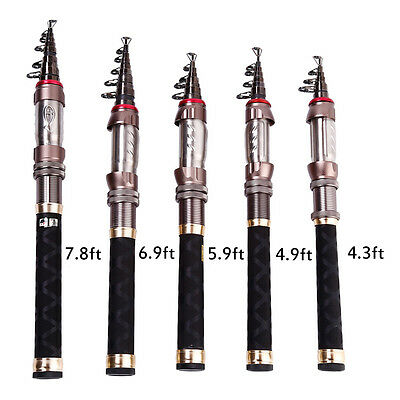 Telescopic Mini Travel Fishing Rod Portable Spinning Fishing Pole Gear Tool(1pc)