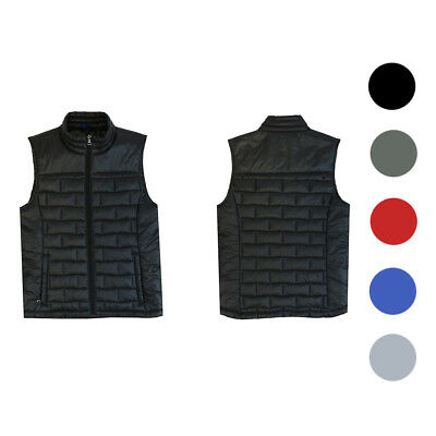 Spire Premium Light Weight Brick Puffer Vest by Galaxy  - All Colors