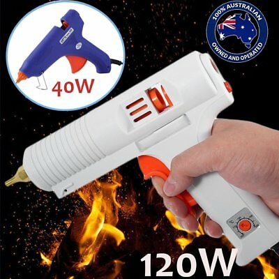 Electric Heating Hot Melt Glue Gun Adjustable Temperature Repair Tool DIY AUS BG
