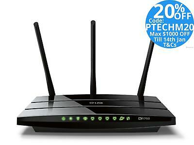 TP-Link Archer C7 AC1750 1750Mbps Dual Band Wireless Gigabit Router USB WIFI