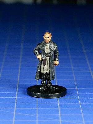 Star Wars miniatures minis Legacy Of The Force Rebel Human Bodyguard #46 & card
