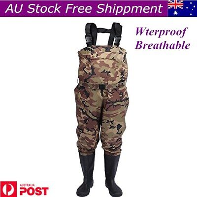Affordable Wildfish Chest Waders Waterproof Breathable Fishing Waders With Boots
