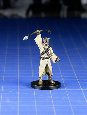 Star Wars miniatures Knights of the old Republic Tusken Raider Scout #52 & card