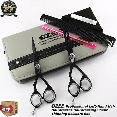 """2X 5.5"""" Professional Hair Cutting Thinning Scissors Barber Shears Hairdressing"""