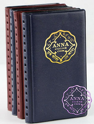 ANNA NUMISMATICS Mini 12 Coin Holders Pocket Hand Album