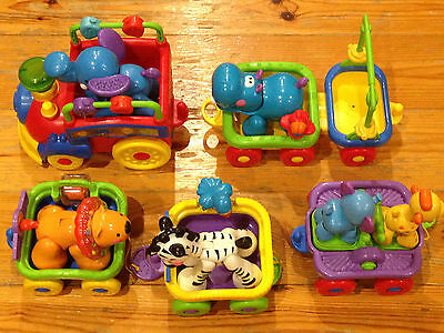 Fisher Price Musical Animal Train Set Child Development Little People
