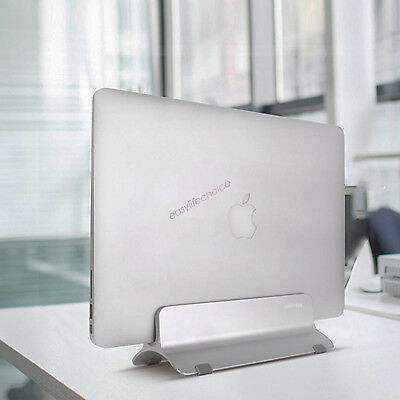 Vertical Laptop Stand Desktop Space-saving Stand Holder for Mac iPad Tablet