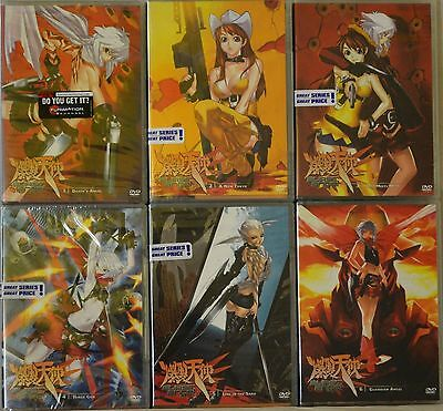 Burst Angel Series Complete Collection 6 DVD Set New Vol 1 2 3 4 5 6 Anime