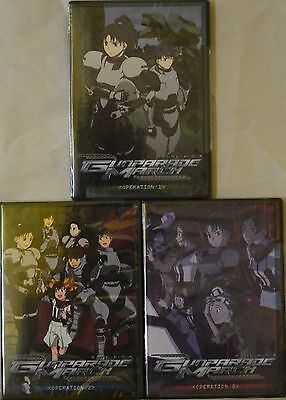 Gunparade March Complete Series Collection New 3 DVD Anime Set Vol 1 2 3