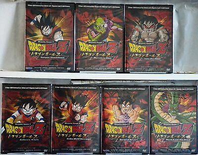 Dragon Ball Z Series Complete Vegeta Saga 1 New 7 DVD Set Ultimate Special Uncut
