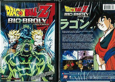 Dragon Ball Z Movie Bio Broly New Anime DVD Funimation Release