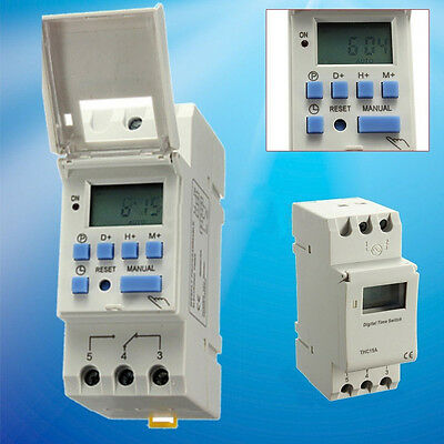 FT- DC 12V Digital LCD Programmable Timer Relay Switch for Power Equipment Uniqu