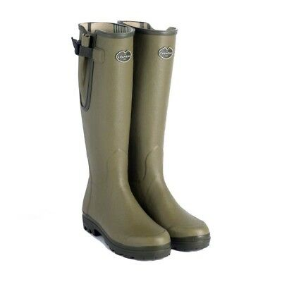 Le Chameau Vierzon Jersey Lined Wellington Boots Wellies Free Boot Bag