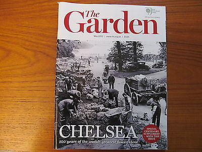 "RHS MAGAZINE ""The Garden"" MAY 2013 - Flowers Plants Horticulture - VGC"