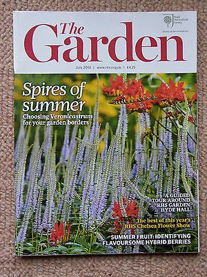 "RHS MAGAZINE ""The Garden"" JULY 2013 - Flowers Plants Horticulture - VGC"