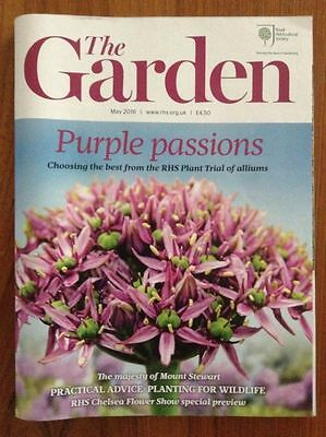 "RHS MAGAZINE ""The Garden"" MAY 2016 - Flowers Plants Horticulture - VGC"