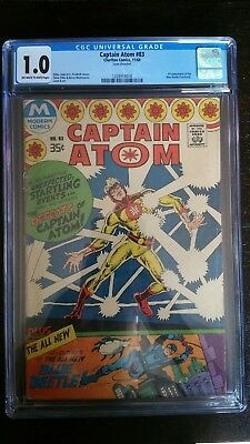 Captain Atom #83 CGC 1.0 1st Appearance of the Blue Beetle (Ted Kord)