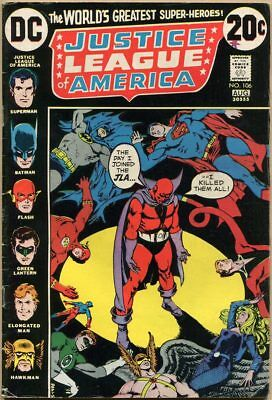 Justice League Of America #106 - VG