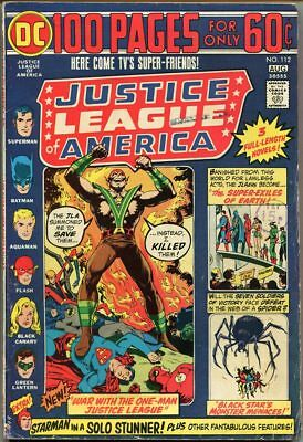 Justice League Of America #112 - VG-