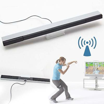 Wired Infrared IR Signal Ray Sensor Bar / Receiver for Nitendo Wii Remote Hot KG
