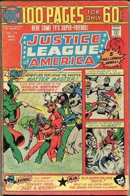 Justice League Of America #116 - VG+