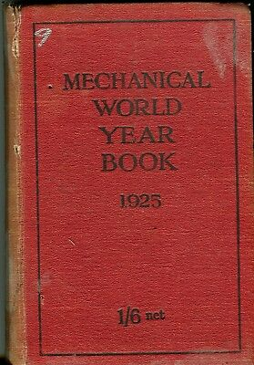 Mechanical World Year Book 1925