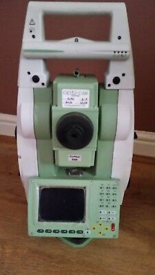 "Used Leica Viva TS12 P 7"" Robotic Total Station kit and CS10 Field Controller"