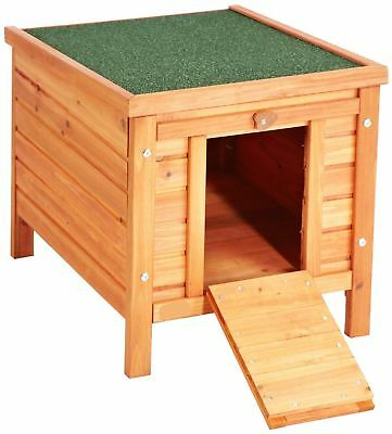 Dog Kennel House Small Wooden Pet Dog Cat Shelter Outdoor Patio Garden New