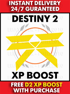 Destiny 2 Exclusive - Xp Boost Code (Ps4, Xbox One And Pc)