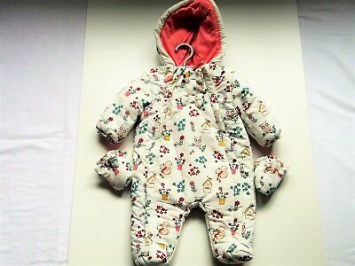 Baby Girl Printed (Wild Life ) Snowsuit