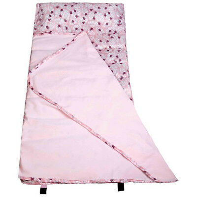 Kids Children Nap Mat Water-Resistant Polyester Outdoor Travel Lady Bug Pink