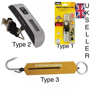 Assorted 50kg Digital Handheld Luggage Scale Travel  Fishing Weighing Scales LC