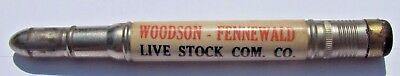 Bullet Pencil WOODSON-FENNEWALD Live Stock Commission National Yards IL Chicago?