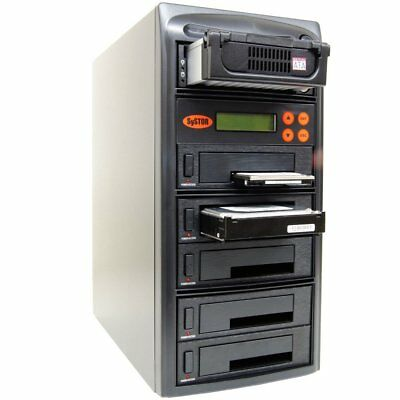 Systor 1 to 5 SATA/IDE Combo Hard Disk Drive HDD/SSD Duplicator/Sanitizer