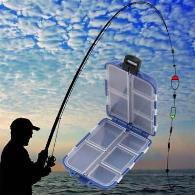 Fishing Tackle Box Carp Weights Safety Clips Hooks Fishing Lure Bait Tackle Box