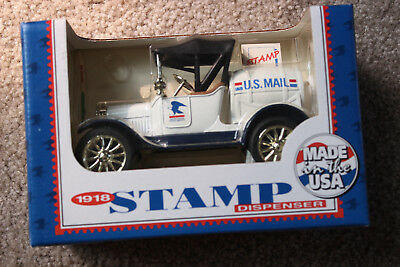 ERTL 1918 Ford Truck US Postal Mail Die-Cast 100 Stamp Dispenser   NEW