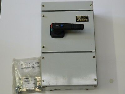 Dorman Smith HBF3P100N 3 Polo Fused + N Switch Disconnector 100Amp