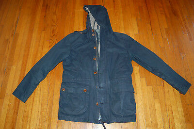 J. Crew men's Winslow Mechanic Field Heavy  Jacket navy blue size S