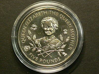 Guernsey 1995  Queen Mother 5 Pounds Crown #G6469