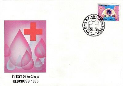 Red Cross 1985 Thailand FDC