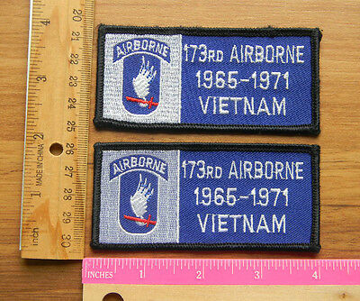 U.S.Army 173rd  Airborne 1965-1971 Vietnam  Color patch Set lot of 2