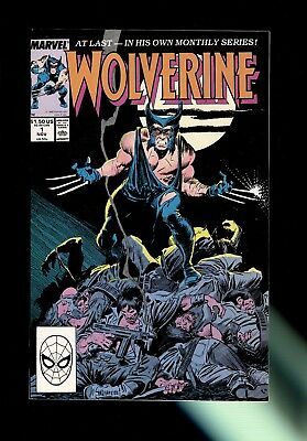 WOLVERINE #1 (Marvel, 1988) 1st ongoing solo series~Near Mint 9.2-9.4 White Pgs