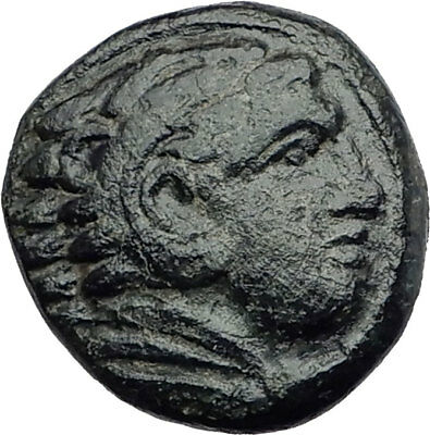 ALEXANDER III the Great 325BC Macedonia Ancient Greek Coin HERCULES CLUB i63588
