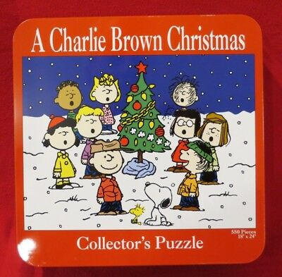 A Charlie Brown Christmas Collectors Puzzle